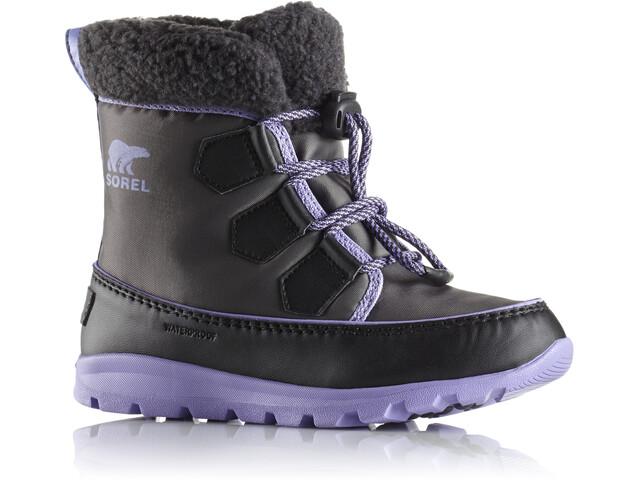 Sorel Youth Whitney Carnival Boots Dark Grey/Paisley Purple